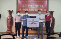 Hội DNT Quảng Ninh chung tay ủng hộ phòng chống Covid-19 tại tỉnh Bắc Giang và Bắc Ninh