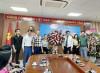 Ngày 21/6 Hội DNT Quảng Ninh trao tặng lẵng hoa chúc mừng Trung tâm truyền thông tỉnh