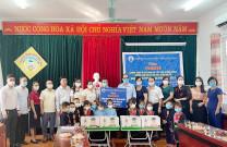 Trao tặng hơn 32.000 ly sữa đến với các em học sinh Trường Mầm non xã Đồn Đạc